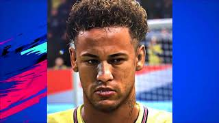 FIFA 19 All New PSG Players Faces Ft. Neymar , Cavani , Mbappe 4K