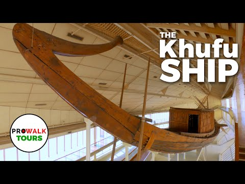 Ancient Egyptian Boat Museum - The Khufu Solar Ship