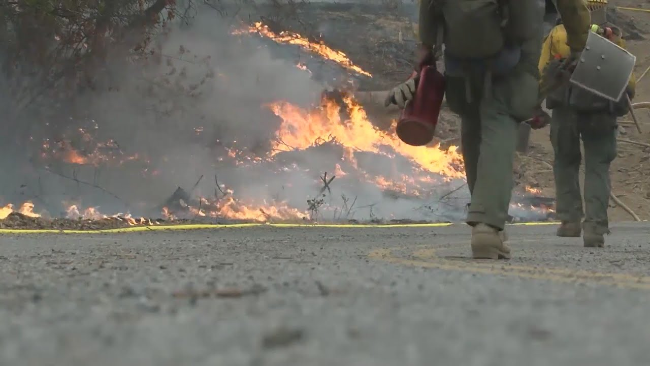 Eyewitness News Creek Fire