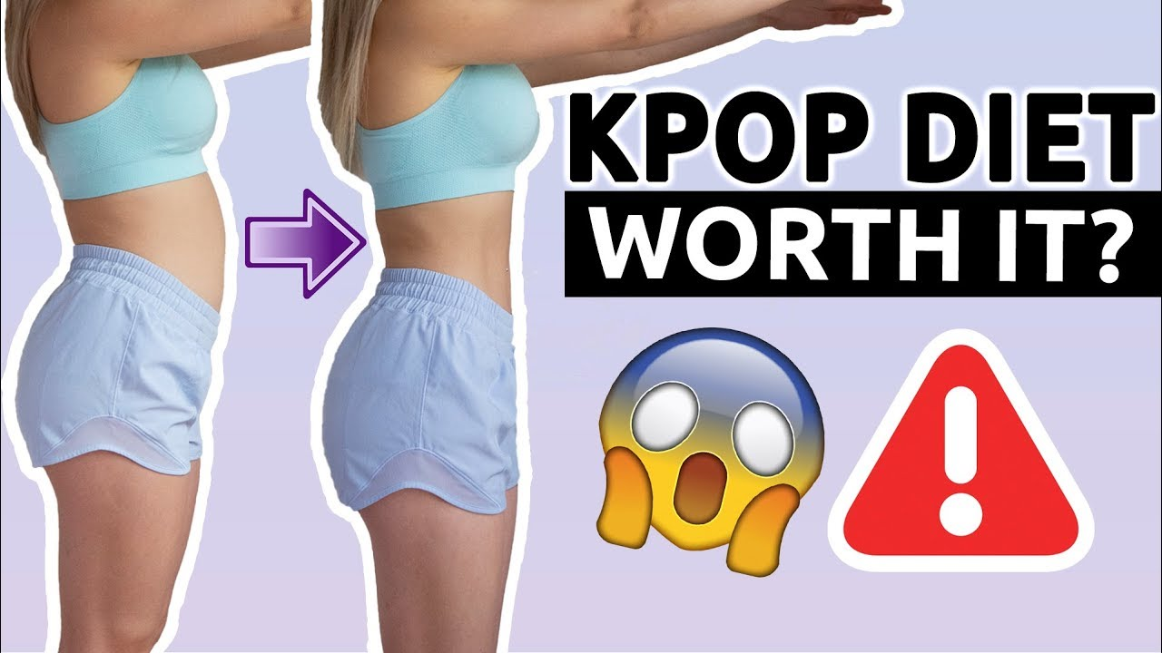 I TRIED A KPOP DIET | BEFORE/AFTER RESULTS | WORTH IT? LOST 1 KG A DAY?