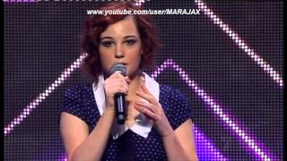 Repeat youtube video X FACTOR 2012 Bella Ferraro First Audition Full HD
