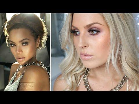 Beyonce Inspired Makeup Tutorial ♡ Golden Glow ...