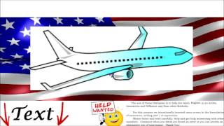 Spoken English Conversation - Travel by Plane, Airport - Imparare Inglese. Dialogo