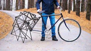 """老外发明""""蜘蛛""""自行车,骑行的那一刻,路人都被惊艳到了!"""