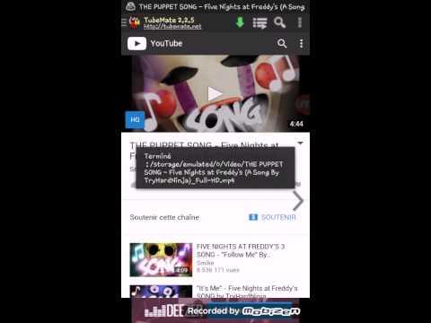 Comment télécharger une vidéo depuis YouTube puis la mettre dans ses musiques