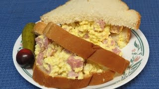 Easy Ham And Egg Salad Sandwich Recipe