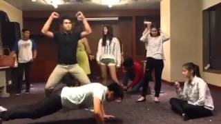 Star Magic Circle 2013 Harlem Shake Cover Part 2