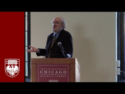 "David Tracy, University of Chicago Divinity School, on ""God as Infinite: Ethical Implications."""