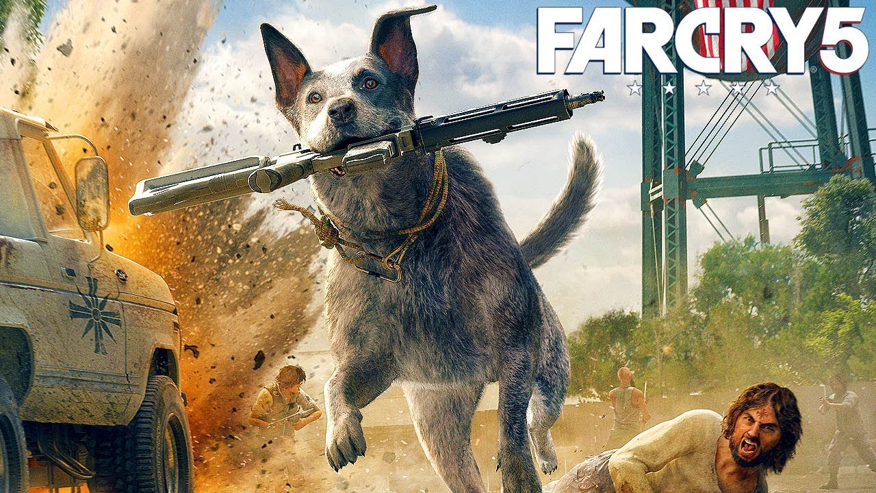Fall Wallpaper Note 8 Far Cry 5 Boomer The Dog Fall S End Mission Gameplay
