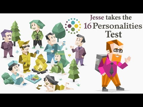 Jesse Takes the 16 Personalities Test