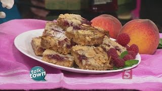 Recipe # 5335 Peach Melba Shortcake Bars