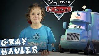 Disney Pixar Cars Грей-транспортер: обзор и распаковка
