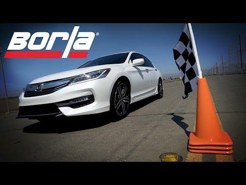 "Borla Exhaust for 2016-2017 Honda Accord 3.5L / 2.4L ""Sport"""