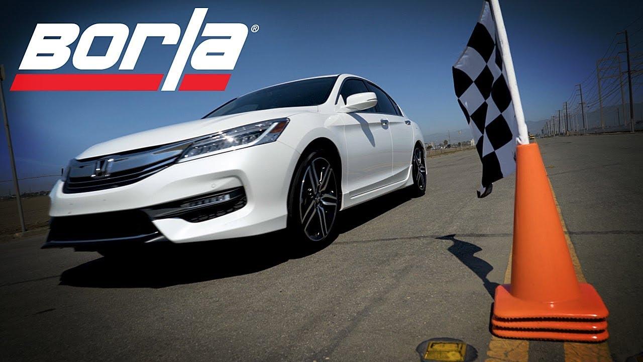 Borla Exhaust For 2016 2017 Honda Accord 3 5l 2 4l Sport Performance Industries