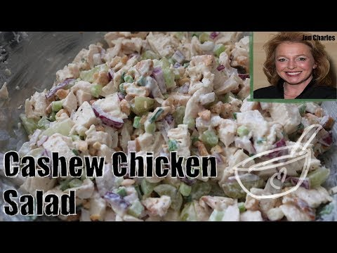Mama's Southern Cashew Chicken Salad Recipe - Just How Mama Makes It!