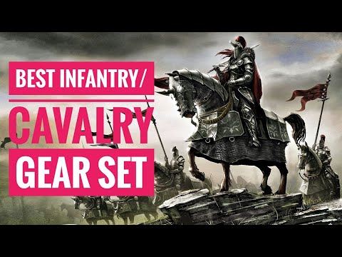 Lords Mobile - Best Infantry/Cavalry Gear Set