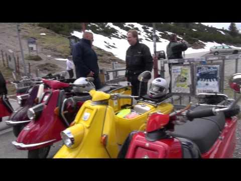 Mit Heinkel Oldtimern in die Alpen