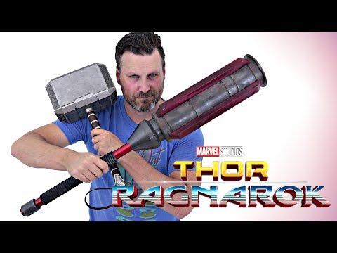 RAG: Thor Ragnarok Cosplay Build – Part 3: Gladiator Hammer | 3D Printed (Hack)