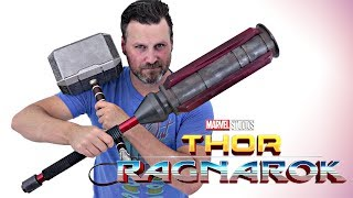 Thor Ragnarok Cosplay Build - Part 3: Gladiator Hammer | 3D Printed