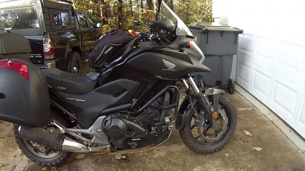 El Cheapo Motorcycle Top Case Hard Case Saddlebags Panniers on Honda NC700XD ( NC700X ) - YouTube
