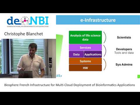 Biosphere - French Infrastructure for Multi Cloud Deployment by Christophe Blanchet