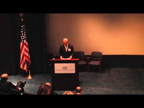 Capstone Remarks: Col. Anthony Wood (2015 AVC Conference)