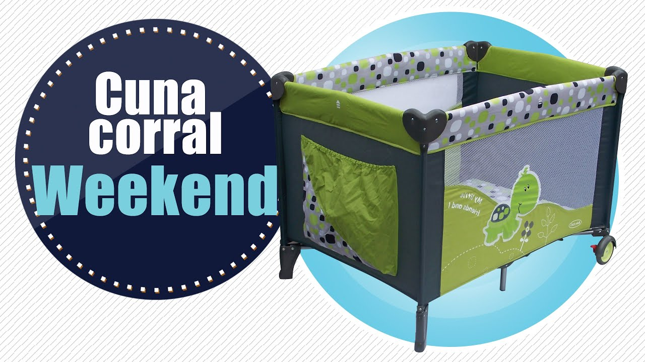 Cuna corral Weekend Baby Kit´s - YouTube