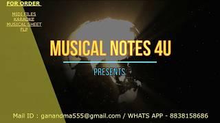 Jai lava kusa Mass Bgm piano notes | Chords | Tutorial | COVER | SYNTHESIA |