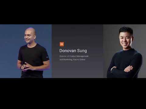 Xiaomi India Live New Delhi launch product Xiaomi MI A1 Global Launch India