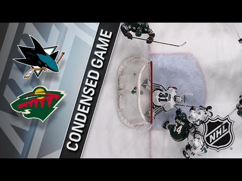 02/25/18 Condensed Game: Sharks @ Wild