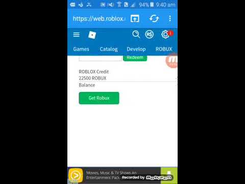 HOW TO GET FREE ROBUX NO PATCHED IN ANDROID 1B+ ROBUX UNLIMITED