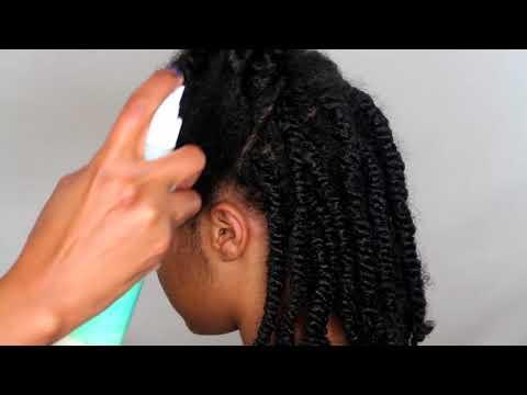 Twist Hairstyle Maintenance 4+ Weeks 2017