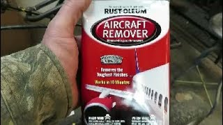 aircraft paint remover by rust oleum