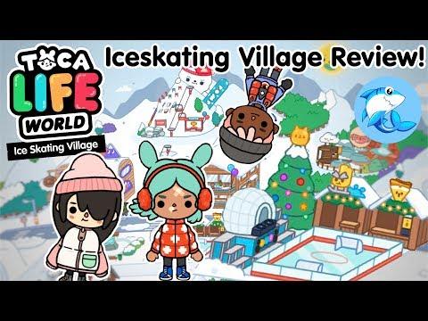 Toca Life World | Iceskating village review!
