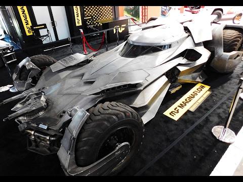 "The Batmobile ""Batman V Superman Dawn Of Justice"" The SEMA Show 2016"