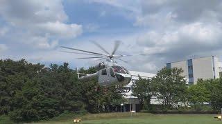 Air Rescue 3 Luxembourg Air Rescue startet an Kinderklinik Sankt Augustin