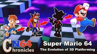 Super Mario 64 And The Evolution Of 3D Platformers - N64 Chronicles Episode 1