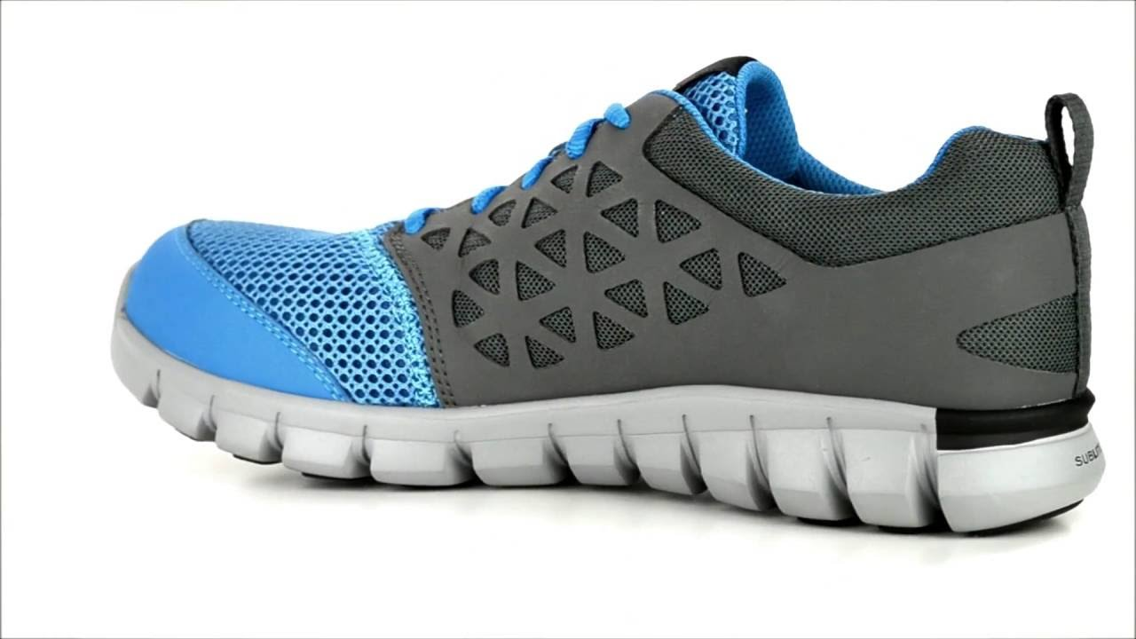 a3cb6589166c Men s Reebok Alloy Toe Work Shoe RB4040   Steel-Toe-Shoes.com - YouTube