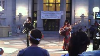 5 MILLION WAYS TO KILL A CEO:  Boots Riley and Gabby La La at #OccupyOakland