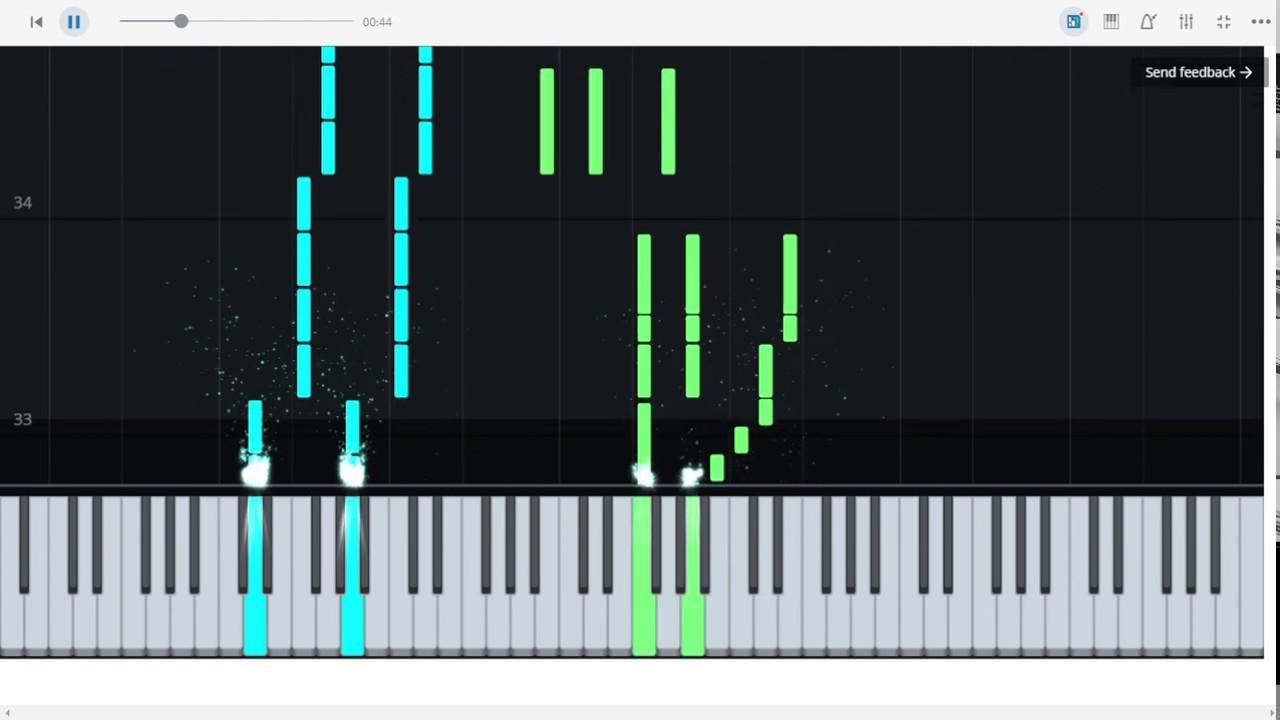 I'm Still Standin - Elton John piano tutorial (MuseScore)