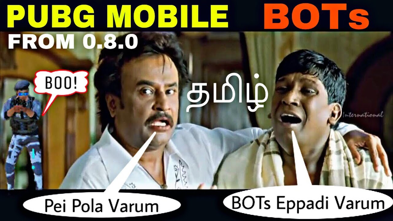 Pubg mobile new bots தமிழ் intelligent and pei pola from pubg mobile 0 8 0 onwards
