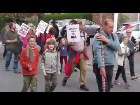 Malton Anti-Fracking Rally April 2015 - Part 2