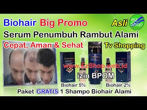 Biohair, Bio Hair Solution Ez Shop Tv Shopping Indonesia