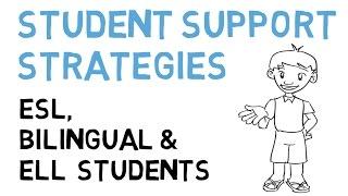 ESL Student Support Strategies (ELL, LEP  & Bilingual)