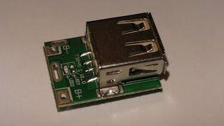 Модуль питания для Li-Ion аккумуляторов. Обзор и подробные тесты.