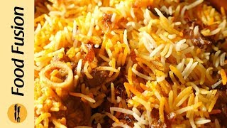 Special Pulao Biryani Recipe By Food Fusion