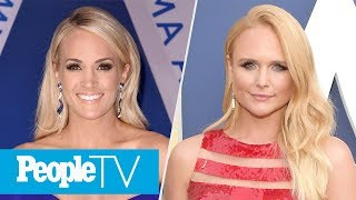Carrie Underwood's Emotional 1st Performance After Fall, Miranda Lambert Sets ACMs Record | PeopleTV