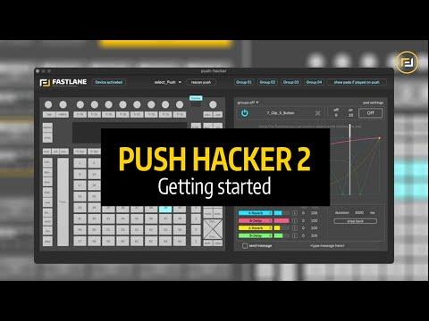 Fastlane Tutoriel Ableton Live - PUSH HACKER 2 - Getting started
