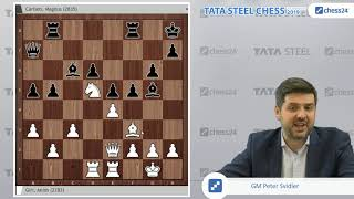 Giri-Carlsen, Tata Steel 2019: Svidler's Game of the Day