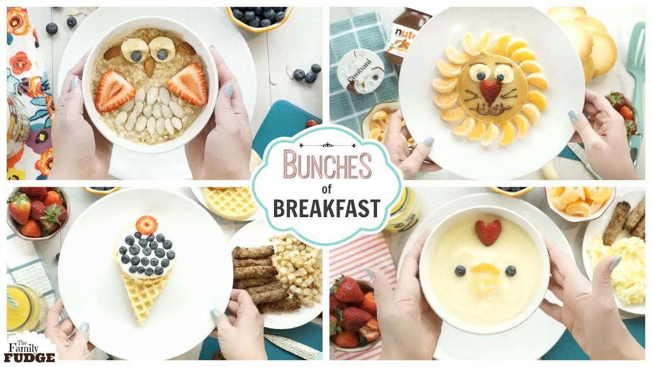 CUTE BREAKFAST IDEAS for BACK to SCHOOL ❤ Quick and EASY!! - YouTube